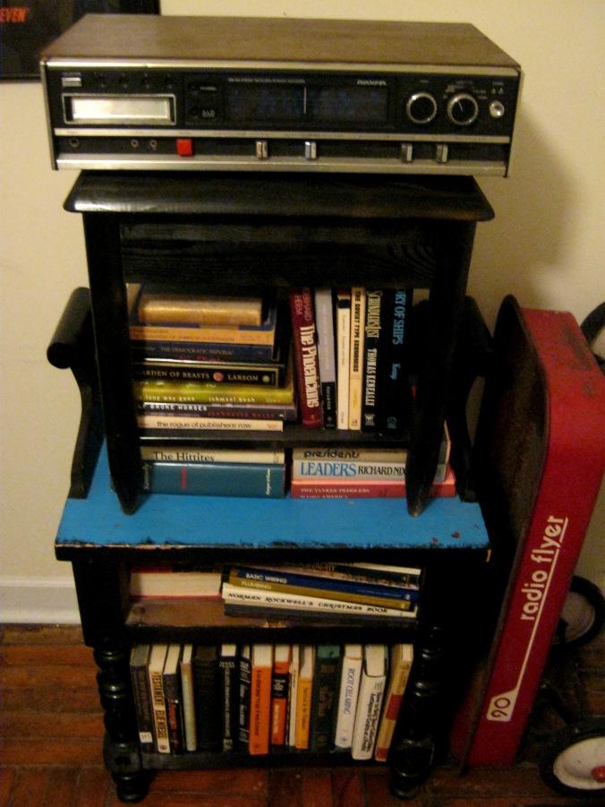 Bam, new bookcase.