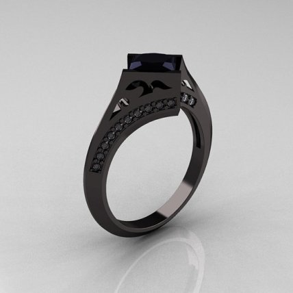 My favorite of these - black gold and black diamond, looks like a spaceship...love this.