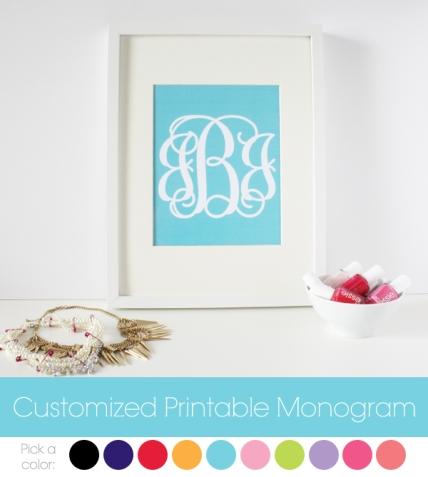 customized-printable-monogram